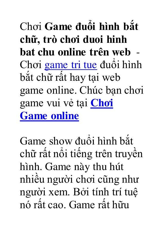 Chơi Game đuổi hình bắt chữ, trò chơi duoi hinh bat chu online trên web - Chơi game tri tue đuổi hình bắt chữ rất hay tại ...