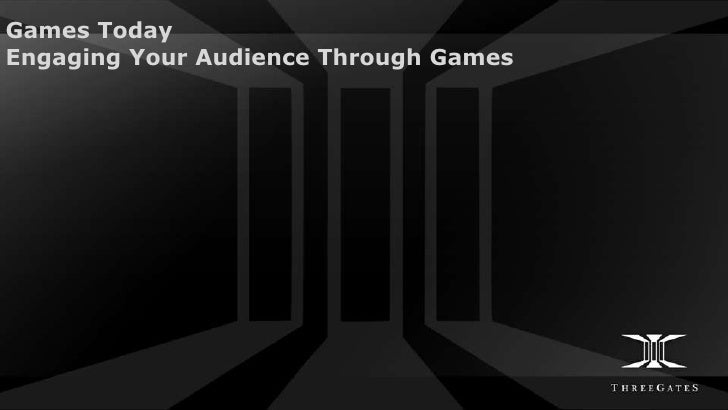 Games TodayEngaging Your Audience Through Games