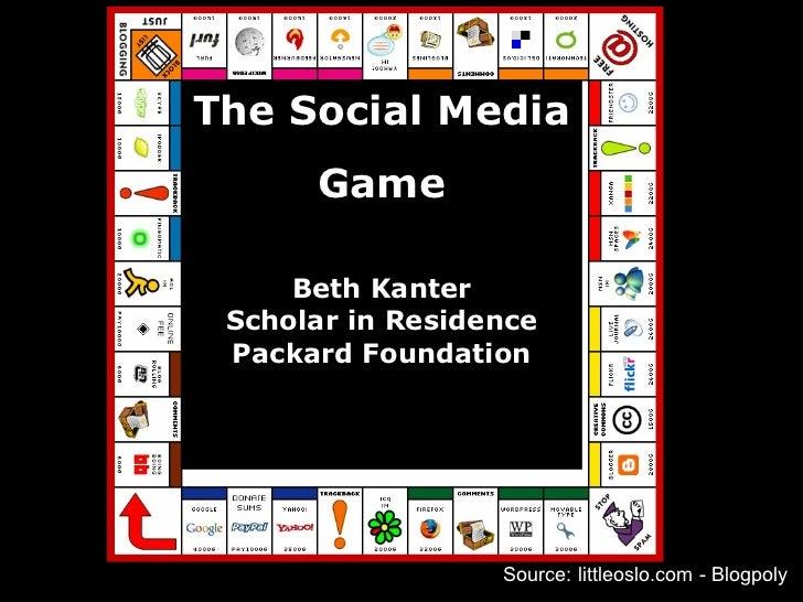 Source: littleoslo.com - Blogpoly The Social Media Game Beth Kanter Scholar in Residence Packard Foundation