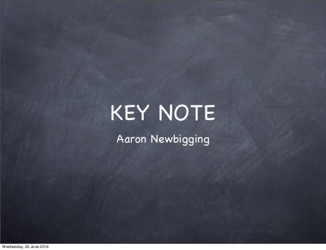 Game keynote