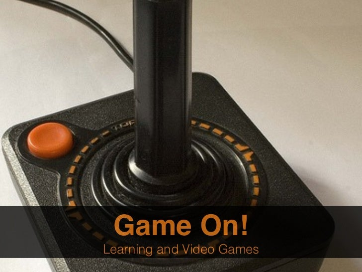 Game On:  Learning and Video Games (Presented to Topsail Elementary PTA)