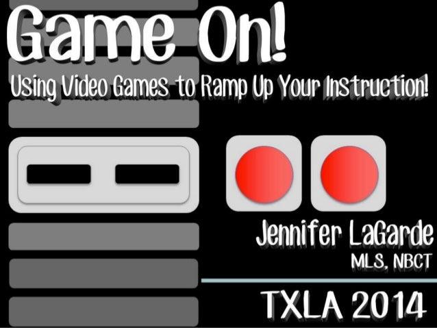 Game On! TXLA14