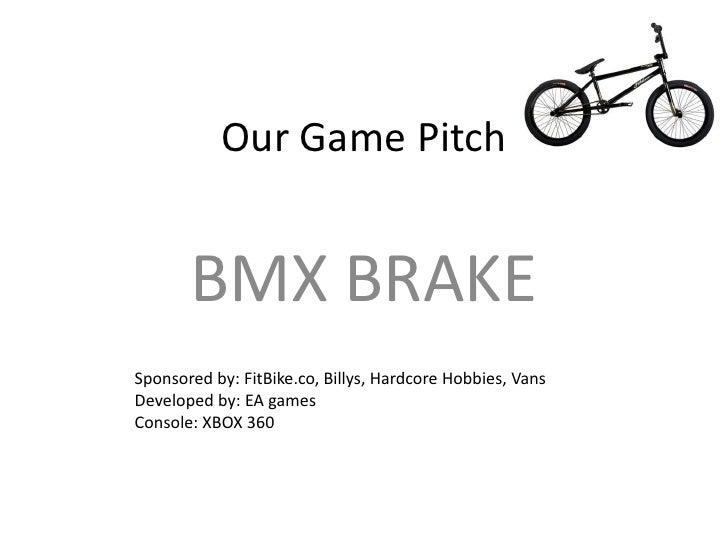 Create a new Game- BMX Brake