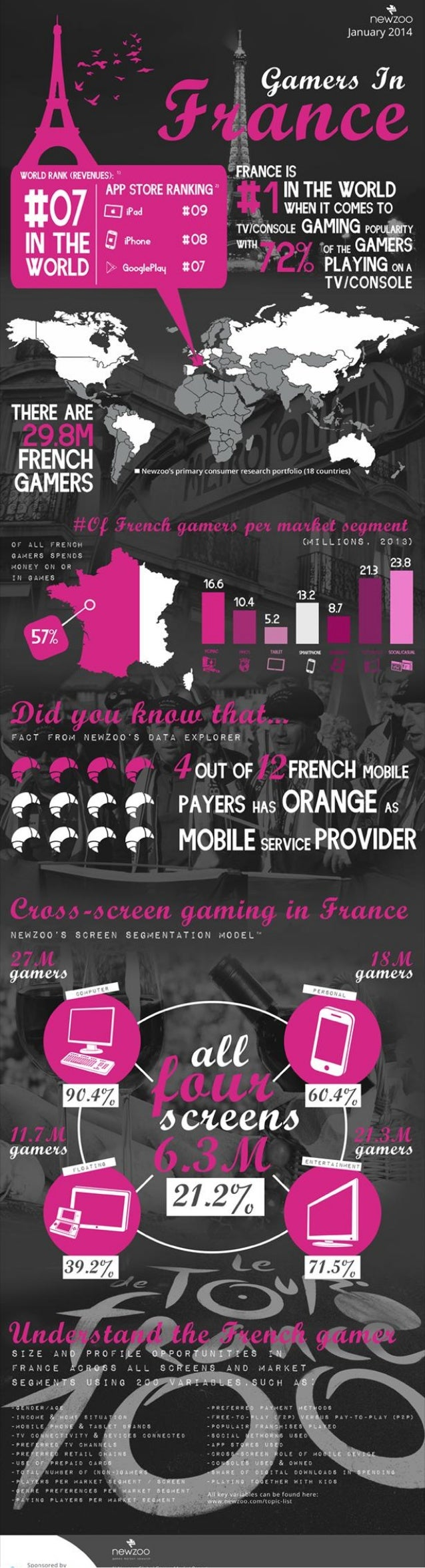 Gamers in france