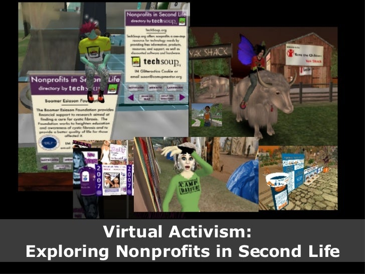 Virtual Activism:  Exploring Nonprofits in Second Life