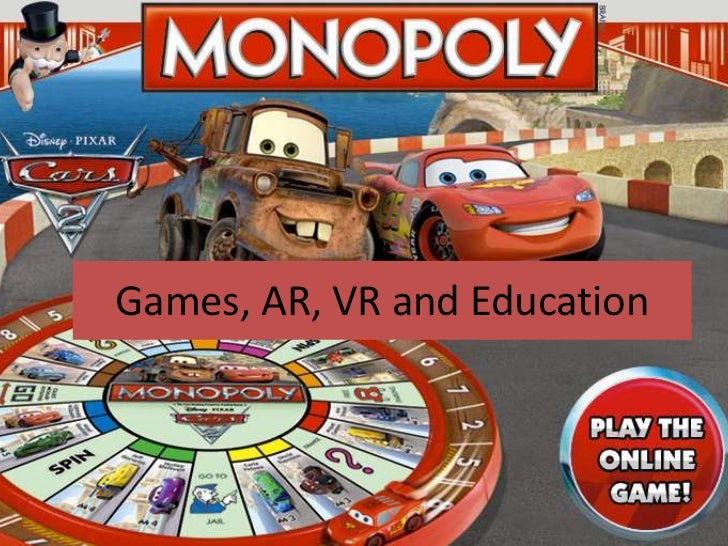 Games, ar, vr and education