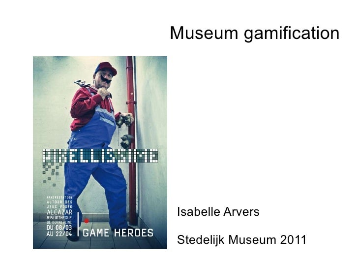 Museum gamification Isabelle Arvers Stedelijk Museum 2011