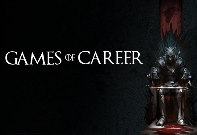 When #GameOfThrones Meets #CareerAdvices