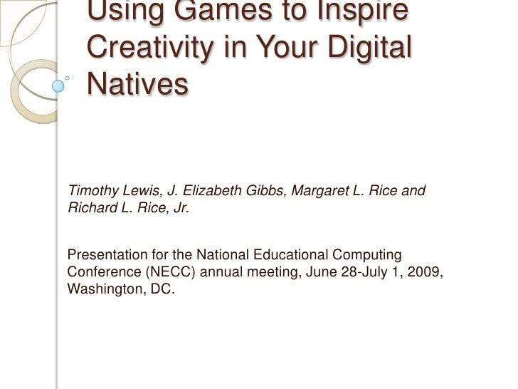 Gamespresentation