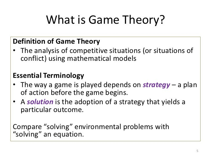 game theory in economics Game theory is a topic of discussion that applies to macroeconomic theory use this quiz and worksheet to review definitions and ideas related to.