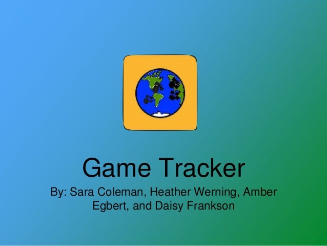 Game Tracker App: Citizen Science from Ilisagvik College STEM camp