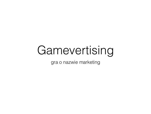 Gamevertising