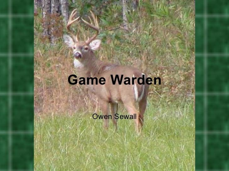 Game wardenpowerpoint2