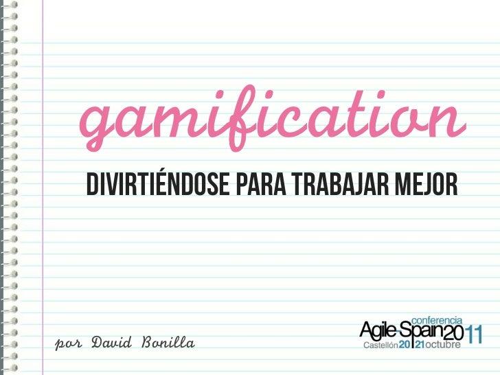 Gamification: utilizar mecánicas del juego para trabajar mejor
