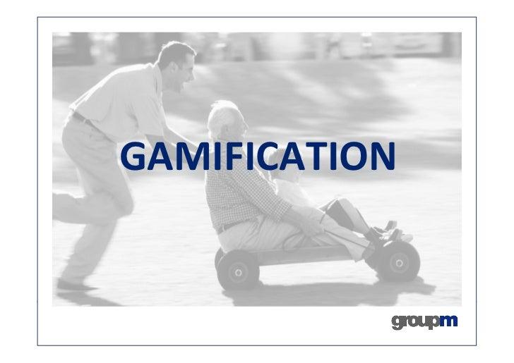"""Présentation par Laurent Buanec de GroupM lors de l'atelier FrenchWeb """"Gamification en action""""Gamification"""