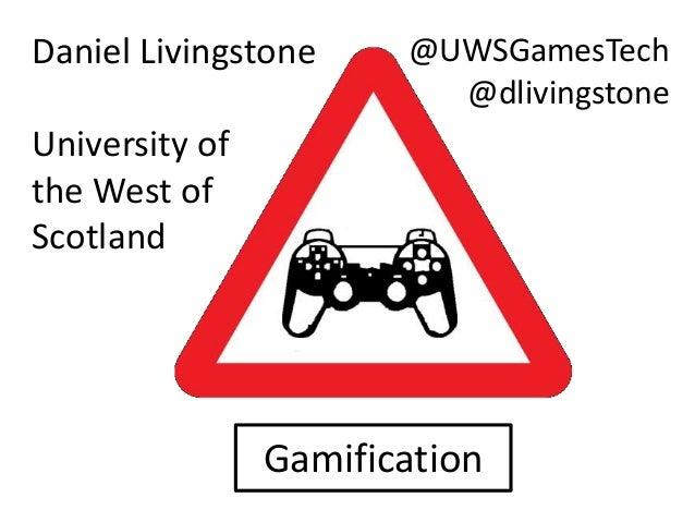 Danger! Gamification!