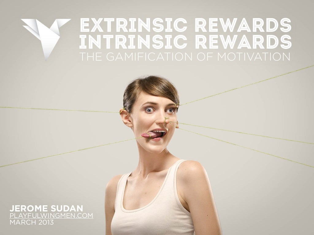 Gamification - Extrinsic vs. Intrinsic Rewards