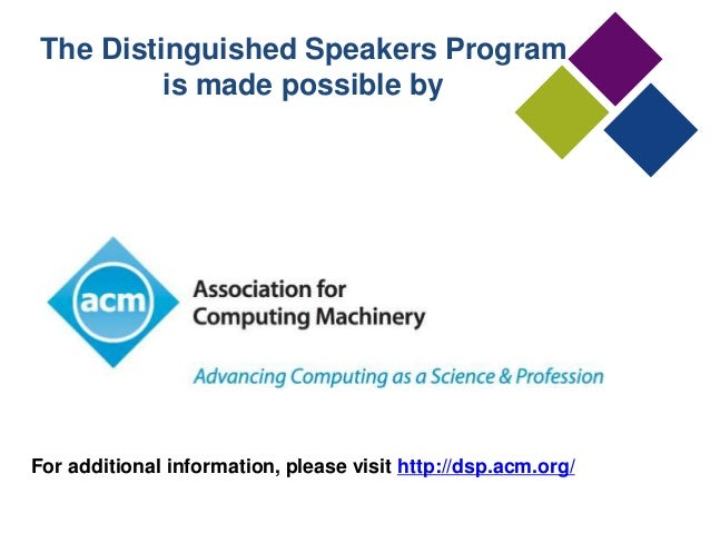2017 ACM Master Article Template  Association for
