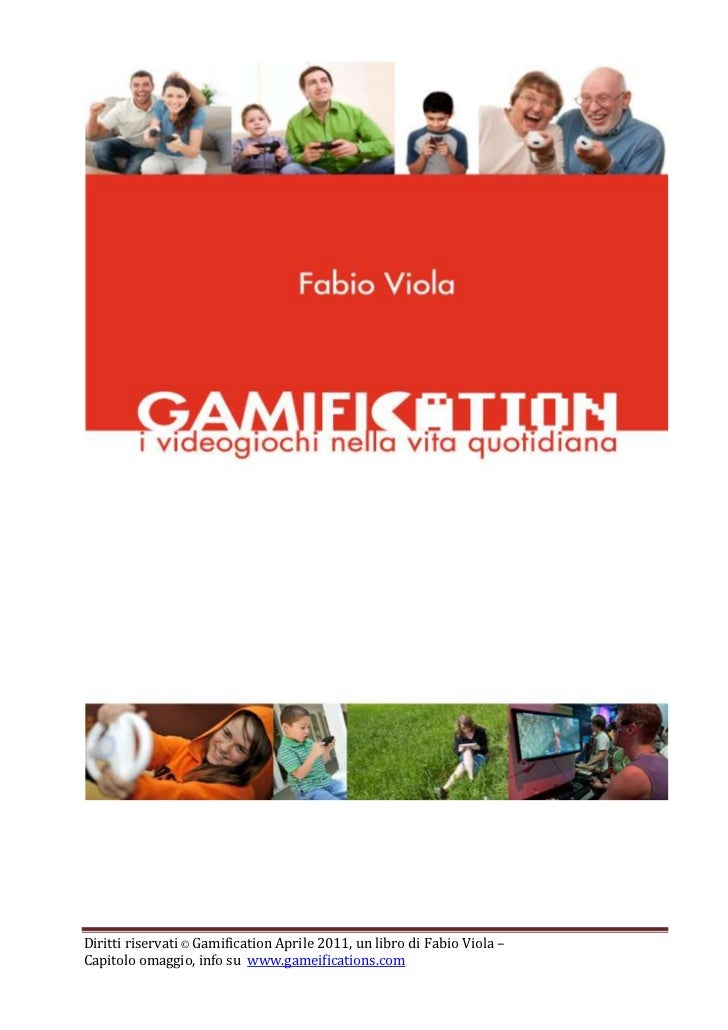 8<br />GAMIFICATION<br />Meccaniche di gioco nella vita quotidiana<br />Gamification è un termine ricorrente in quest'oper...