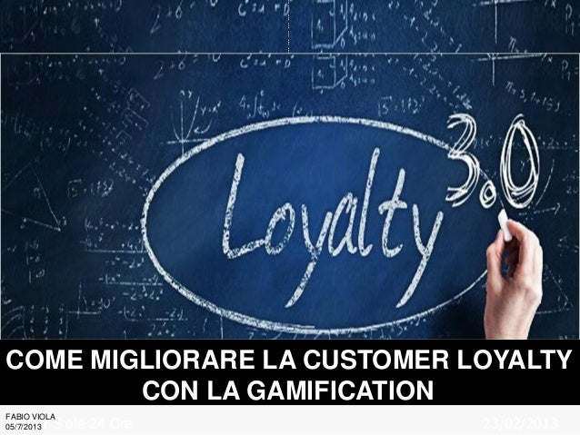 Gamification loyalty-manifesto