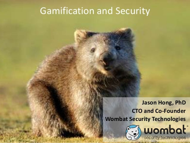Gamification and Security Oct2012