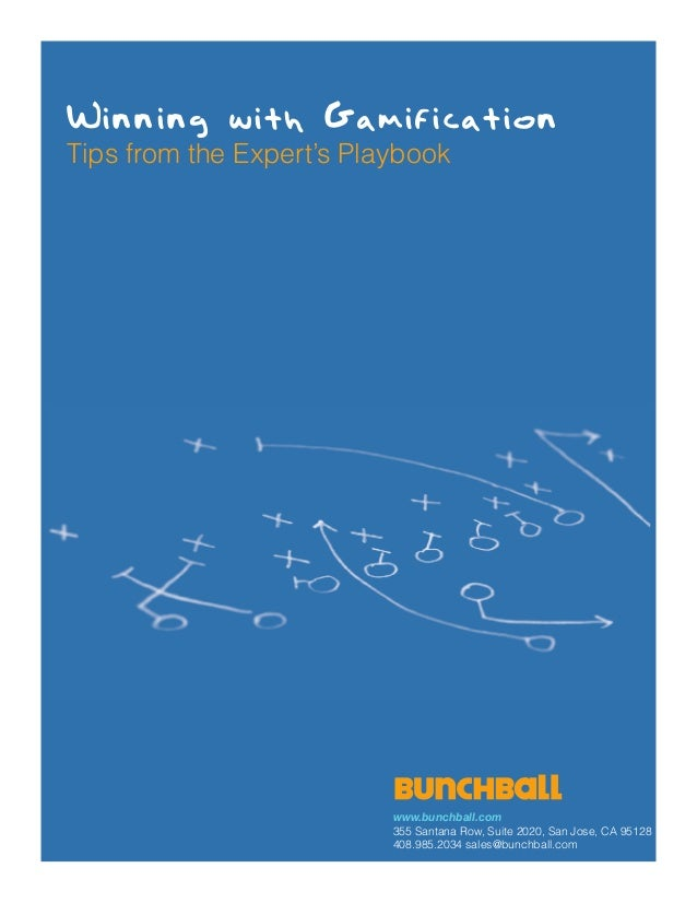 Gamification playbook