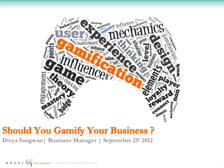 Gamification - Should you gamify your business?