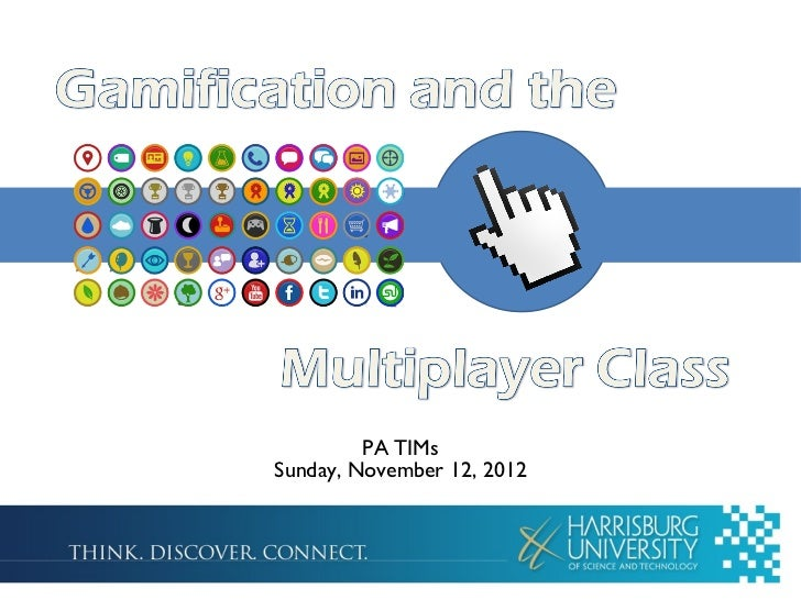 Gamification and The Multiplayer Class
