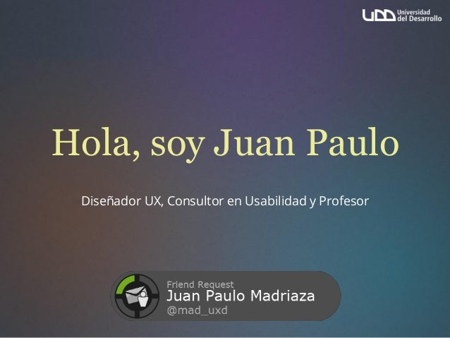 Gamification Magister en comunicación UDD