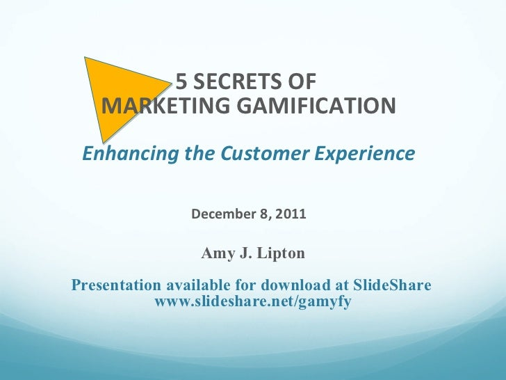 Gamification for witi 12.8.11