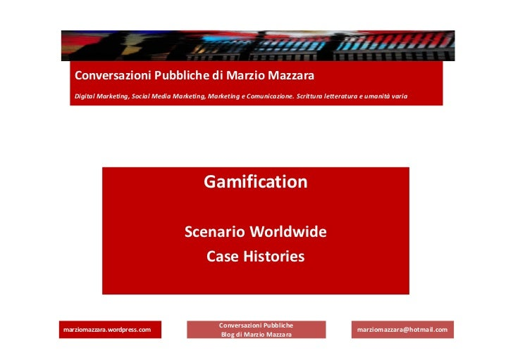 Conversazioni Pubbliche di Marzio Mazzara   Digital Marketing, Social Media Marketing, Marketing e Comunicazione. Scrittur...