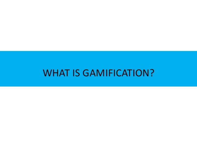 The Use of Gamification in eLearning