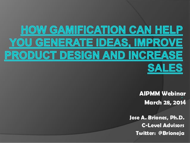 How Gamification Can Help You Generate Ideas, Improve Product Design and Increase Sales