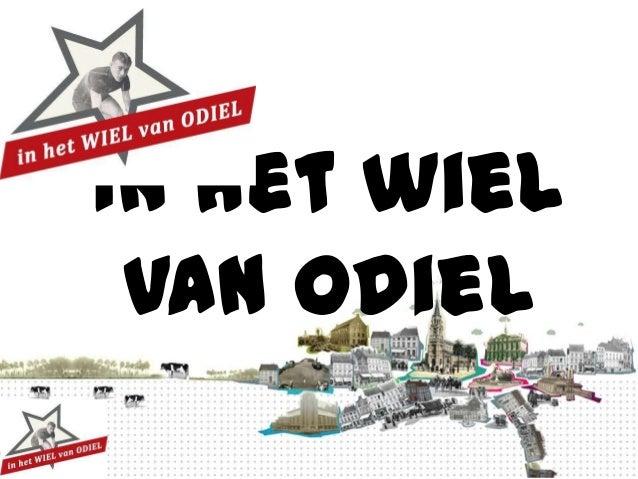 Ter inspiratie: Wiel van Odiel (Erfgoedcel Terf / Universiteit Hasselt)