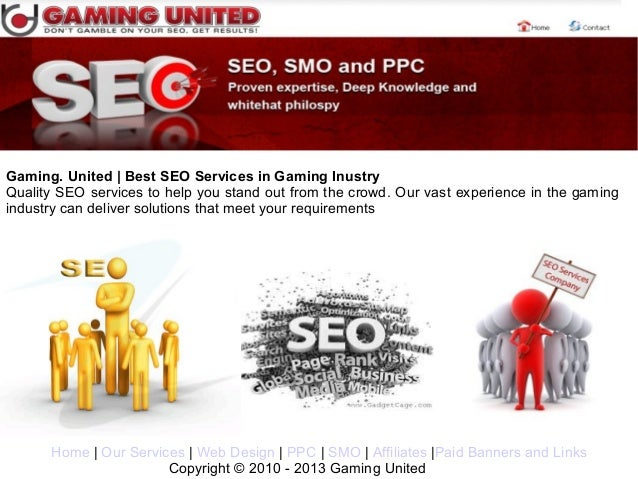 Gaming. United | Best SEO Services in Gaming InustryQuality SEO services to help you stand out from the crowd. Our vast ex...