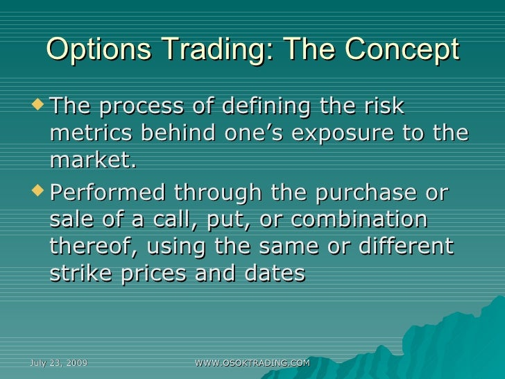 R options trading