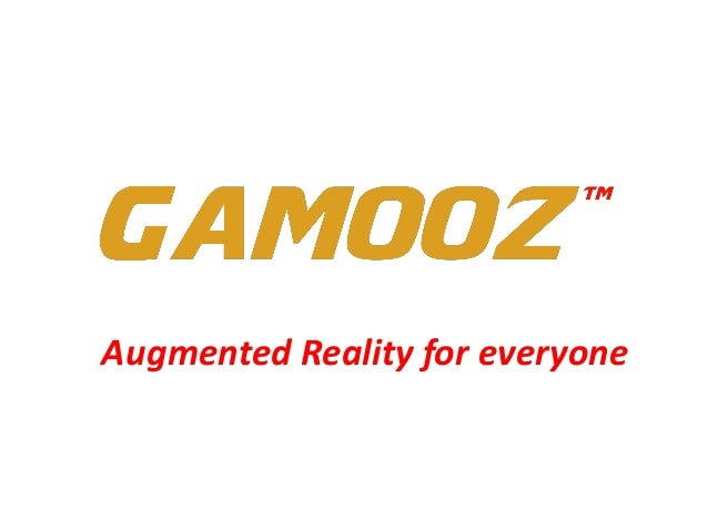 Gamooz - Augmented Reality