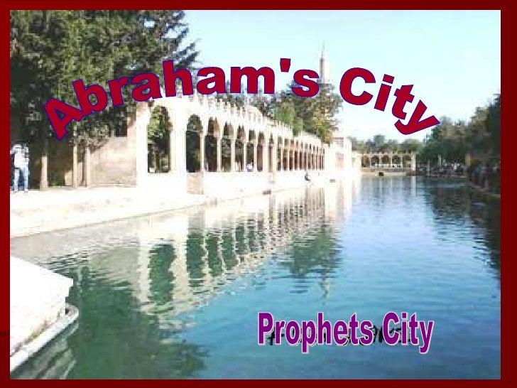 Abraham's City Prophets City