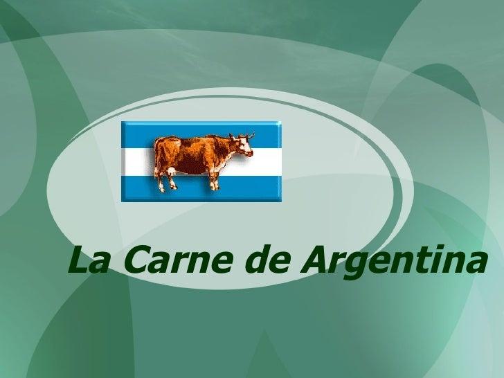 La Carne de Argentina