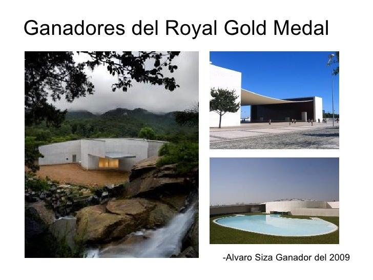 Ganadores del Royal Gold Medal -Alvaro Siza Ganador del 2009