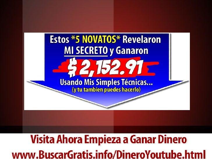 Secretos Ganar Dinero con Videos Youtube al Fin REVELADOS!