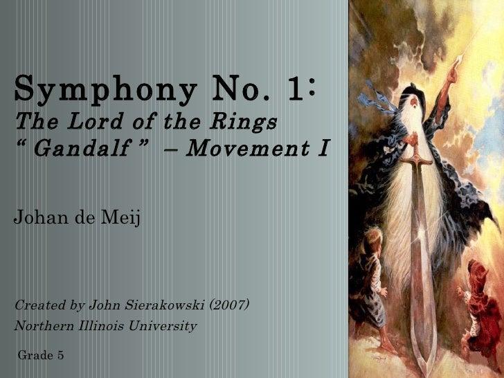 Symphony No. 1 - Gandalf
