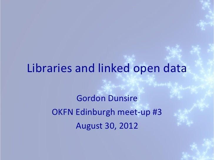 Open Knowledge Foundation Edinburgh meet-up #3
