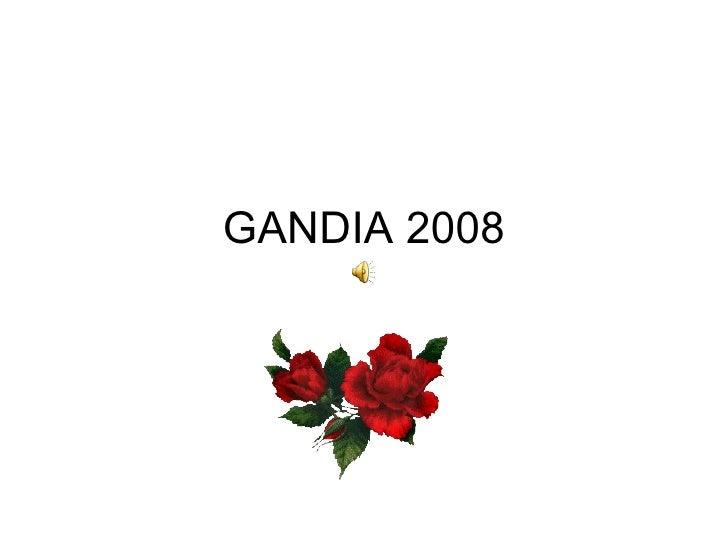 GANDIA  2008