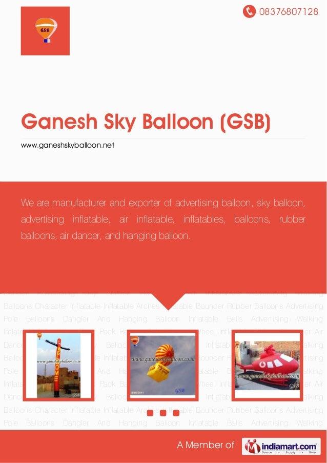 08376807128A Member ofGanesh Sky Balloon (GSB)www.ganeshskyballoon.netAir Dancer Advertising Sky Balloon Advertising Air I...