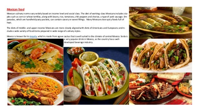 Mexican food history