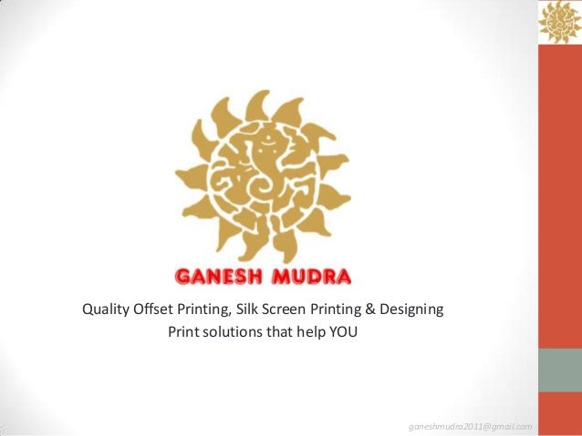 Quality Offset Printing, Silk Screen Printing & Designing             Print solutions that help YOU                       ...