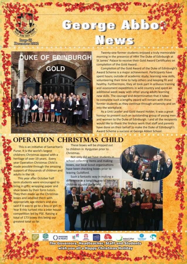 Ga newsletter autumn 2012