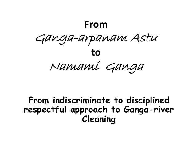 Ganga action plan 2014