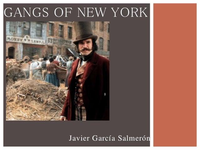 essays on gangs of new york